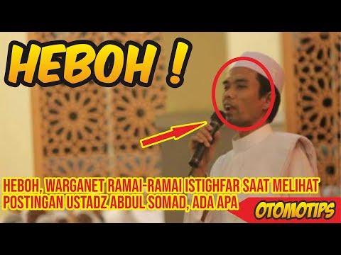 Heboh, Warganet Ramai Ramai Istighfar Saat Melihat Postingan Ustadz Abdul Somad, Ada Apa – OTOMTOIPS