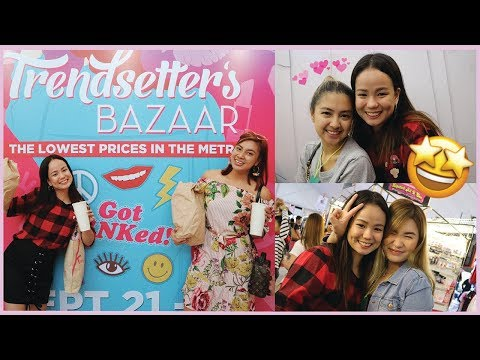 VLOG 4 : WE MET REI GERMAR & TONI SIA! + Trendsetter Haul with Ate Stephanie! | Collette Cantada ♥️