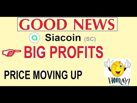 SIACOIN ( SC) PRICE UPDATE  |  25%  PRICE UP OVER LAST 2 DAYS  | 84 – 104 SAT  #SIACOIN