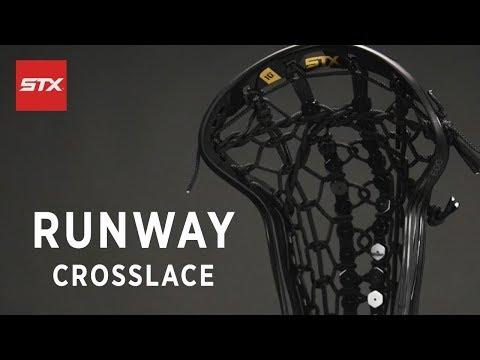 STX Runway Pocket Stringing Tutorial – Crosslace
