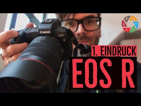 Canon EOS R Test: Mein erster Eindruck | was gut ist und was nicht