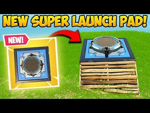 *NEW* SUPER LAUNCH PAD! – Fortnite Funny Fails and WTF Moments! #332