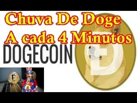 Chuva De Dogecoin A cada 4 Minutos Faucet 2018