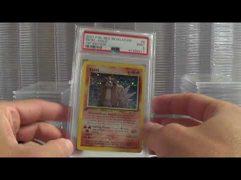 PSA Returns!  1st Edition WOTC Holos from NEO Series