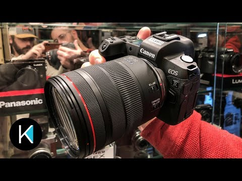Canon EOS R First Look! (Cologne Germany)