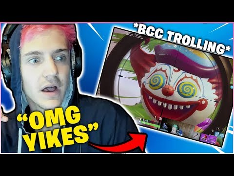 NINJA First Time Reacting to *BCC TROLLING* & Got Scared Because of This Clip…