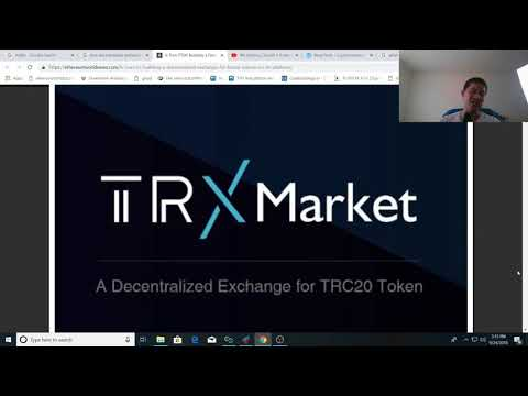 TRON Market DEX coming, why its a big deal for TRON