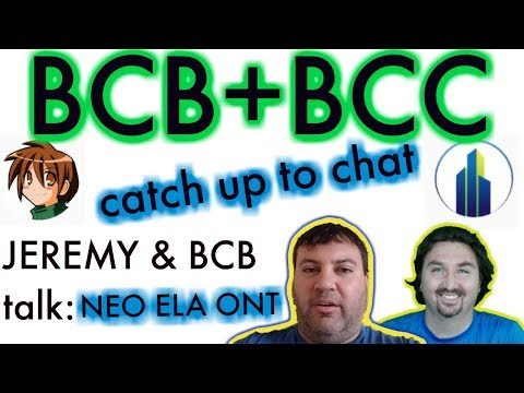 Jeremy of Blue Collar Crypto & BlockchainBrad Chat | ONT | NEO | ELASTOS | Crypto News | Crypto chat