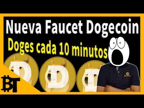 Nueva Faucet de Dogecoin – Doges cada 10 minutos
