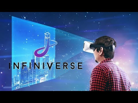 FIRST LOOK At Infiniverse! AUGMENTED REALITY ON EOS!