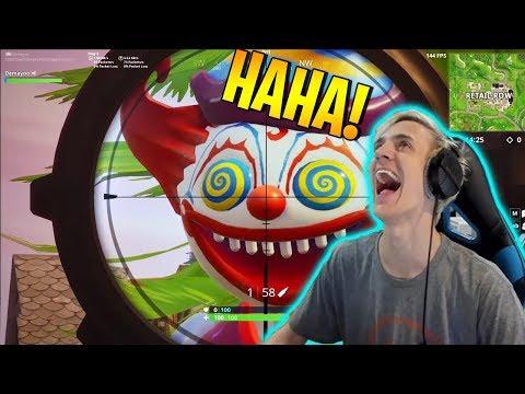 NINJA Reacts Fortnite Funny Fails and WTF Moments – BCC Trolling