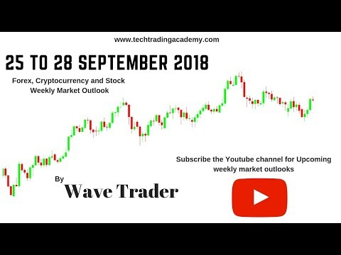Cryptocurrency, Forex and Stock Webinar and Weekly Market Outlook from 25 to 28 September 2018