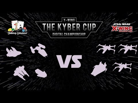 The Kyber Cup 2018 | X-Wing 2nd Edition | Swiss Round 2 | Saix vs. Carver