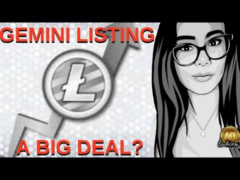 Litecoin Listing on Gemini Exchange- A Push LTC NEEDS? Possible Bitcoin Cash BCH Killer?!