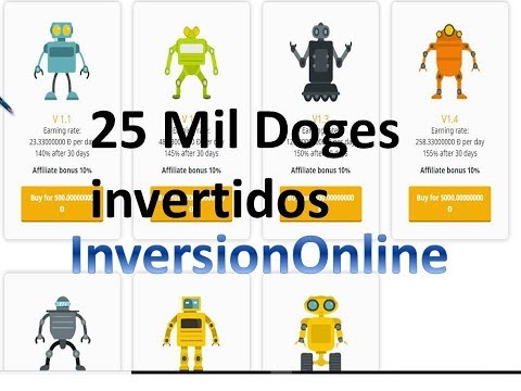 My Paying Doge como funciona? qué es? 25 Mil Doges invertidos