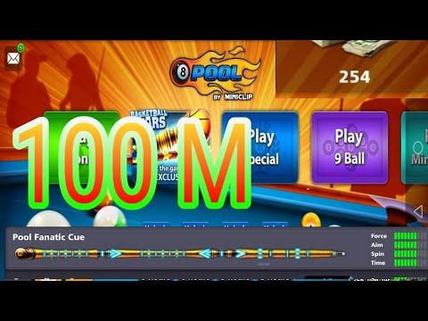 OMG | Pool Fanatic Cue & 254 Cash 100M Coins Giveway