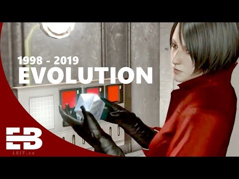 Evolution of Ada Wong ( 1998 – 2019 )