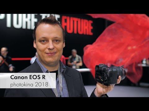 Canon EOS R | Vollformat-DSLM mit Touch-Bar im Hands-On-Test [photokina 2018]