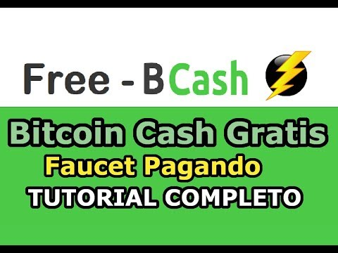 Free BCash Como Ganar Bitcoin Cash Gratis TUTORIAL