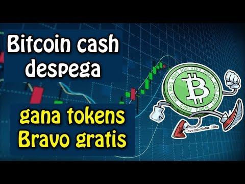 bitcoin cash despega, noticias importantes y gana tokens bravo gratis
