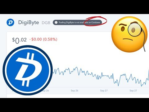 Coinbase Listing: DigiByte(DGB) And Top 50 Alts Added Soon?