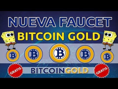 ✅Nueva faucet para ganar CIENTOS de BITCOIN GOLD gratis ? fácil y rápido APROVECHA!! la mejor ?