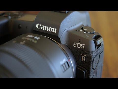 CANON EOS R   – C-log, 120fps, Digital IS and AF Tests
