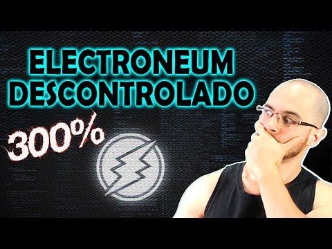 🛑 Electroneum perdeu o freio! Criptomoeda valorizou 300% e continua subindo! Eu avisei!