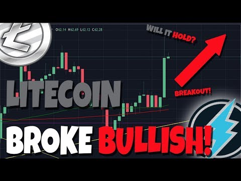 Litecoin Just Confirmed The Rally! – Bull Run Coming… (What Is Electroneum Up 40%?)