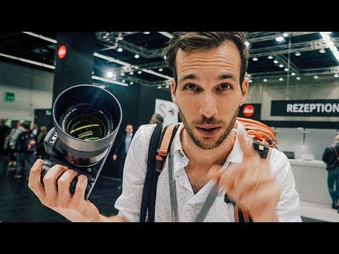 Hands on with Canon EOS R 28-70 f/2, Nikon Z7, Fuji GFX50R and a 20,000$ Leica S3
