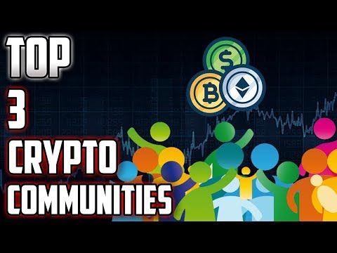 Top 3 Crypto Communities (NPXS, DOGE, BTC, NANO, ETH, OMG, ETN?)