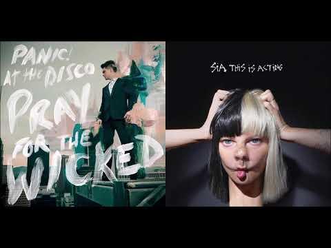 Cheap Saturday – Panic! At The Disco vs Sia (Mashup)