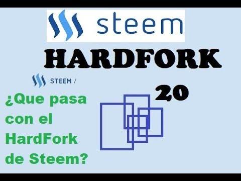 ¿En que consiste el Hard Fork 20 de Steem? Problemas con Steemit