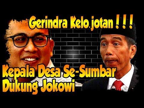 Ada yang Kebak(aran) Jenggot, Kepala Desa Se-Sumbar Dukung Jokowi