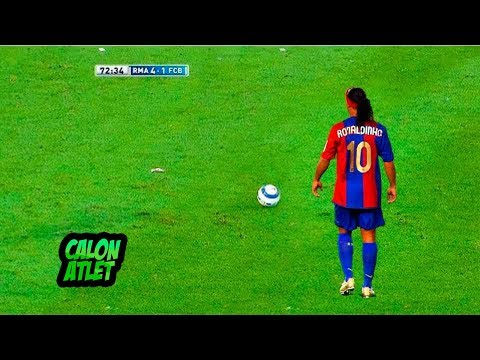 Inilah Kemampuan Ronaldinho yang Mengagetkan Dunia!! RONALDO & MESSI Tidak Ada Apa-Apanya!