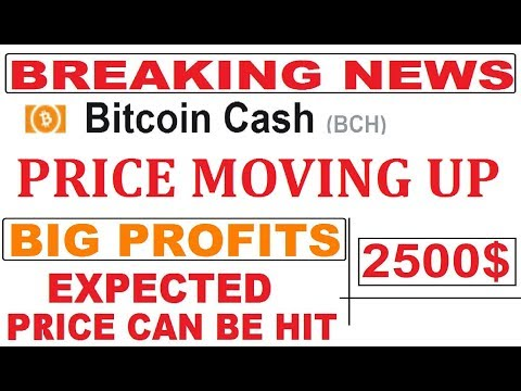 BITCOIN CASH  PRICE UPDATE  & 25 %  PRICE MOVING UP | EXPECTED PRICE CAN BE HIT 1500 – 2500 $  #BCH