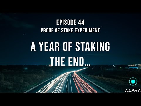Proof of stake experiment – Episode 44 – A year of staking what's the best coins 2018 – The End?