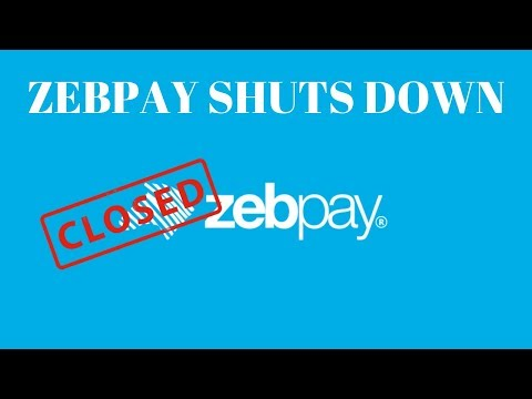 Zebpay Cryptocurrency Exchange Shuts Down