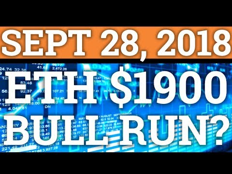 ETHEREUM TO $1,900? CRYPTOCURRENCY BULL RUN ANY MINUTE? BITCOIN BTC DAY TRADING + PRICE + NEWS 2018