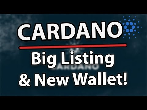 Cardano ADA New Kraken Listing, New Universal Wallet & Technical Analysis!