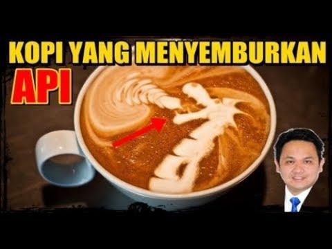 HEBOH..!! kopi bisa menyemburkan api , ada yang bisa menjelaskan ?