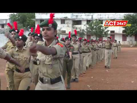 NCC Student Rally @ Nellore VRC Grounds || ACT24X7HDNEWS