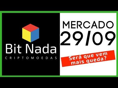 Mercado de Cripto! 29/09 Será que vem queda? / Bitcoin / ADA / Blockchain / Chaves Publica e Privada
