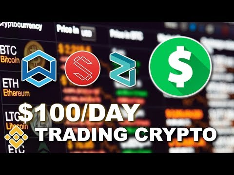 How To Day Trade Cryptocurrency On Binance ($100/Day) | Beginner's Guide To Trading Crypto In 2018