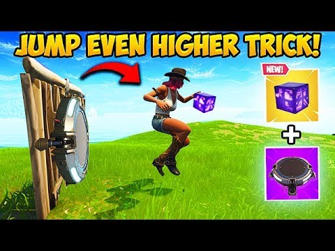 *BRAND NEW* JUMP 20X HIGHER TRICK! – Fortnite Funny Fails and WTF Moments! #337