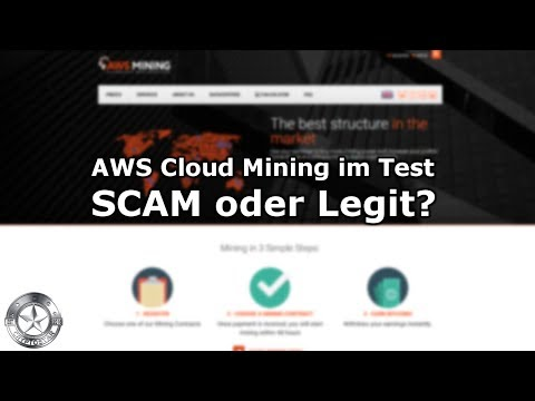 AWS Bitcoin Cloud Mining im Test September 2018