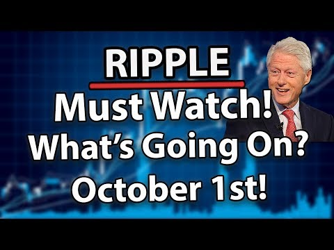 Ripple (XRP): What Will Happen To XRP Price On October 1st? (Most Important Day!)
