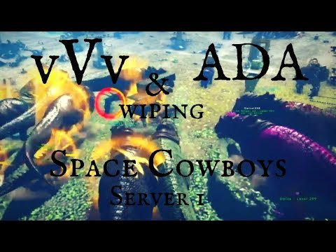 Ark official PvP | vVv x ADA | Wiping Space Cowboys Main ISLAND Server 1 | New Alliance?