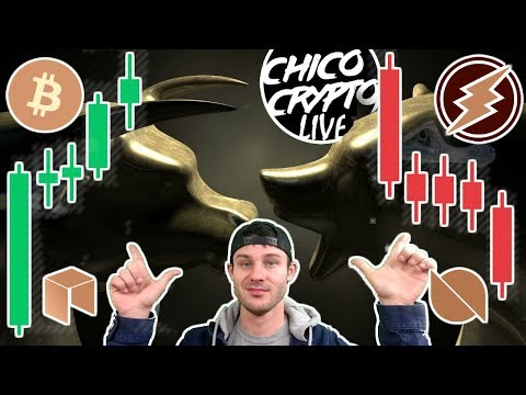 Chico's Back!! $EOS Collusion? $ETN Flash Crash W/ Special Guest Chill Zone International