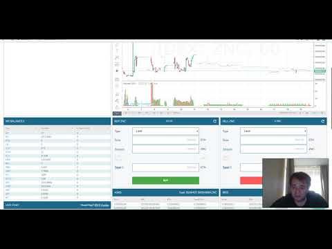 Обзор Zeon Network ZNC на бирже IDEX